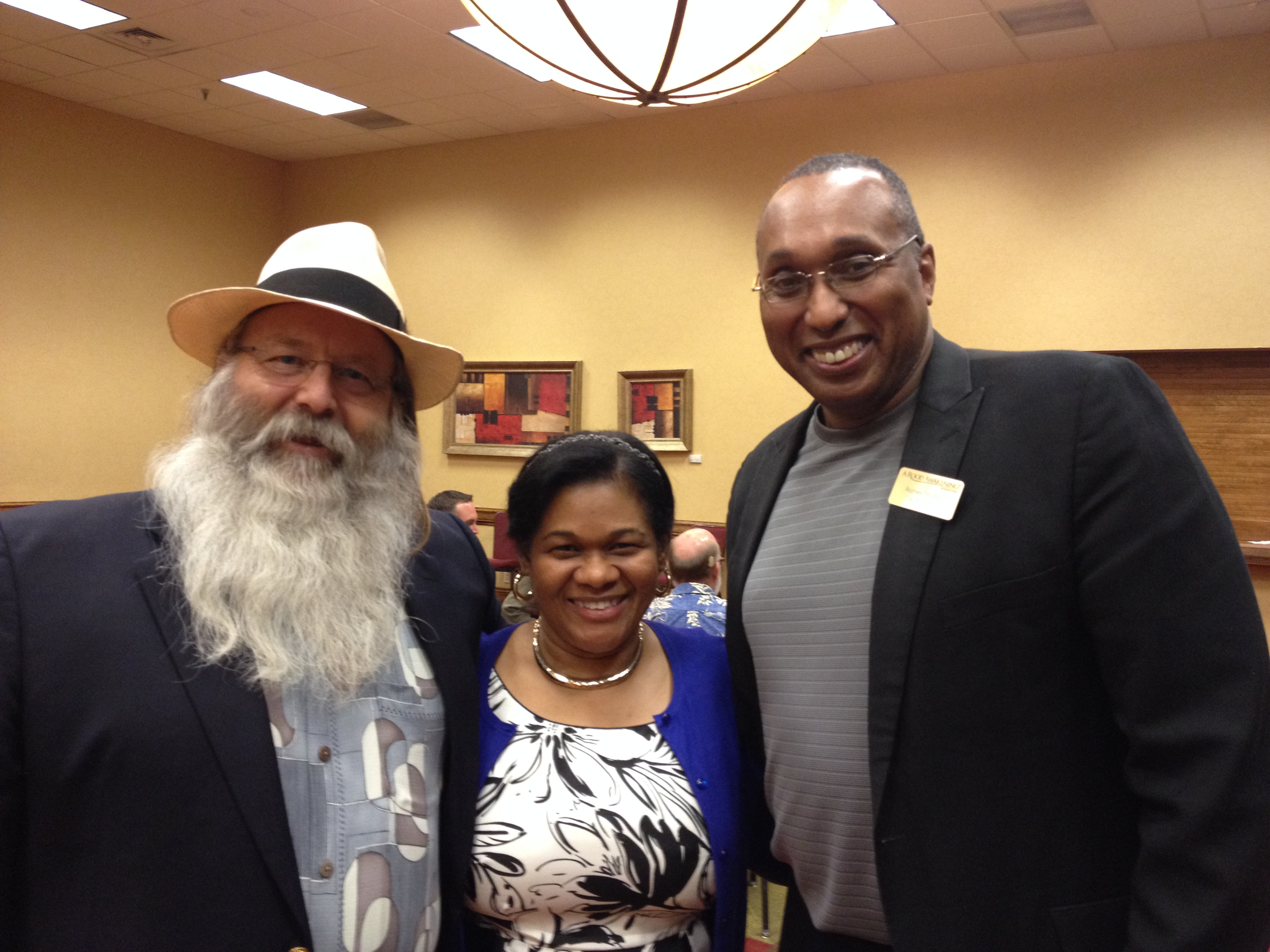 Michael Rood, Hilary and Rod at Sukkot 2013 in Denver Colorado
