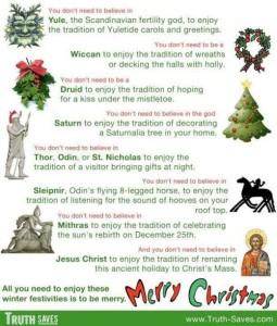 christmas is pagan