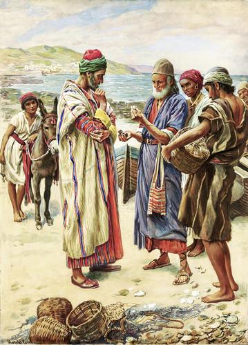 merchant seeking pearls