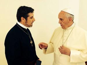 Pope Francis and Tony Palmer