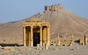 Temple of Baal Palmyra Syria before ISIS destroyed it