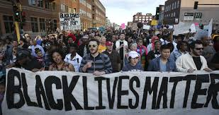 A Black Lives Matter Protest